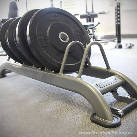 Image of Element Fitness Bumper Plate Rack Close Up