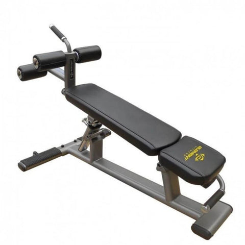 Element Fitness Commercial Ab_Crunch Bench 3D View