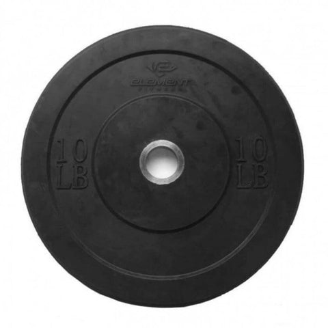 Image of Element Fitness Commercial Black Bumper Plates 10 lb
