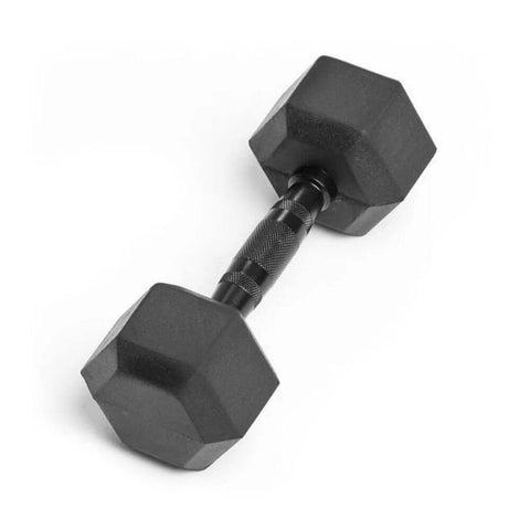 Element Fitness Commercial Rubber Hex Dumbbells 12 lbs