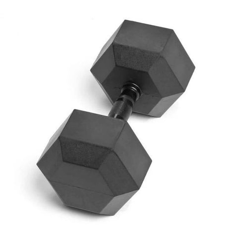 Element Fitness Commercial Rubber Hex Dumbbells 55-120lbs