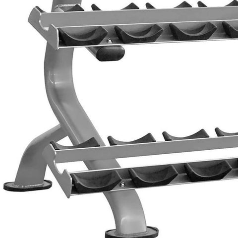 Image of Element Fitness IT7012 Series 3-Tier Dumbbell Rack 3D View Close Up
