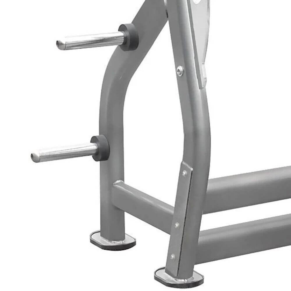 Element Fitness IT7014 Series Flat Olympic Bench Close Up Front Side View