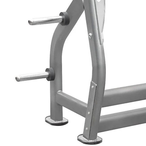 Image of Element Fitness IT7014 Series Flat Olympic Bench Close Up Front Side View