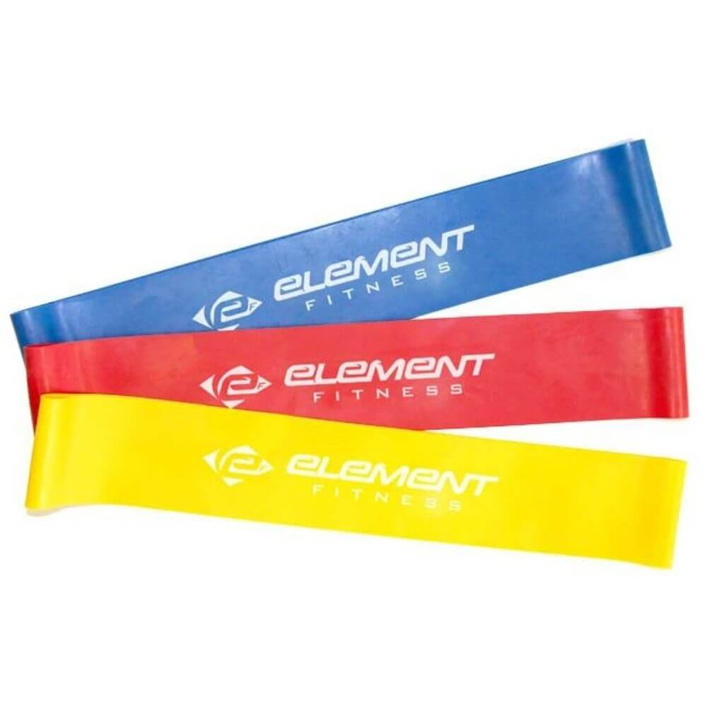 Element Fitness Resistance Mini-Bands Family 3 Colors