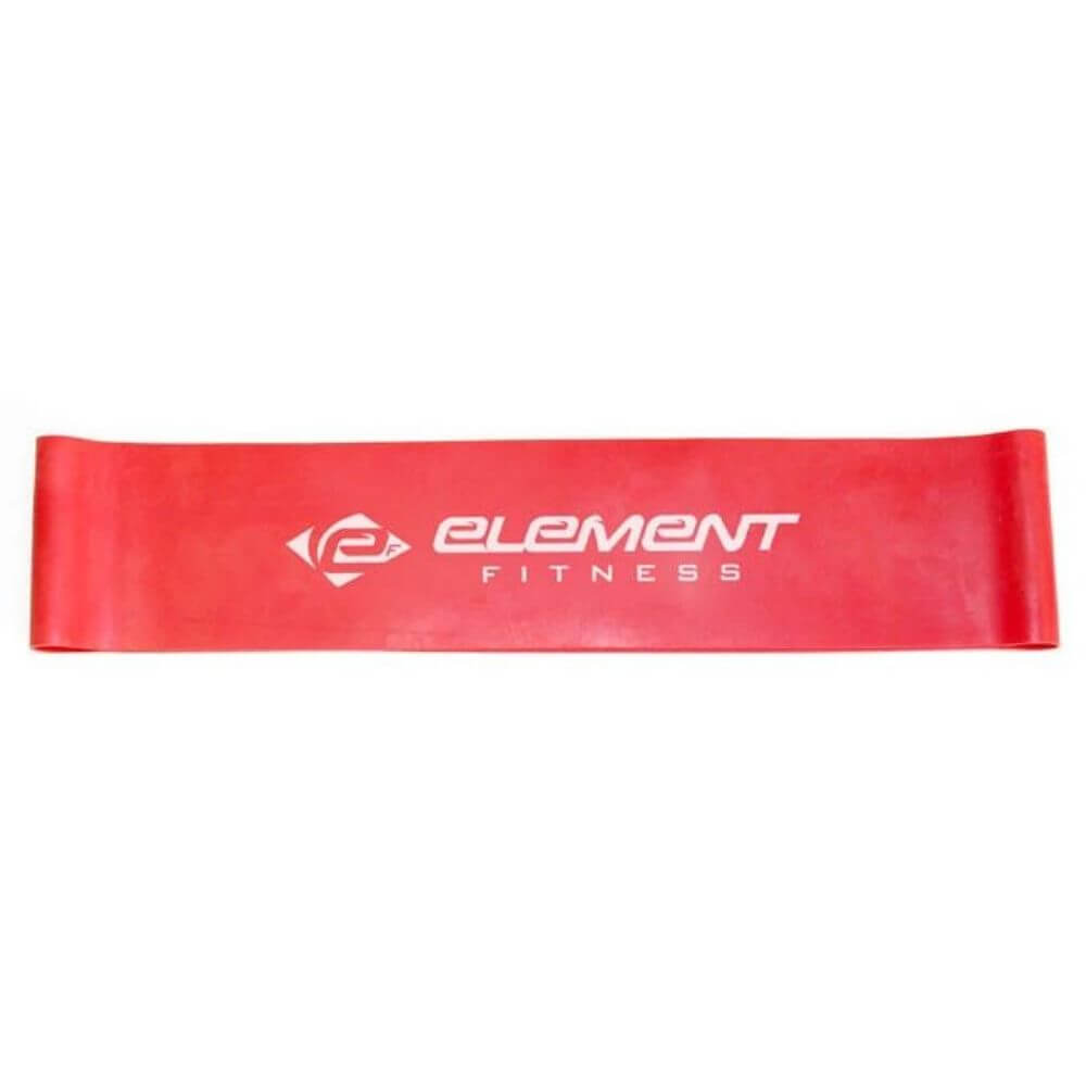 Element Fitness Resistance Mini-Bands Medium - Red