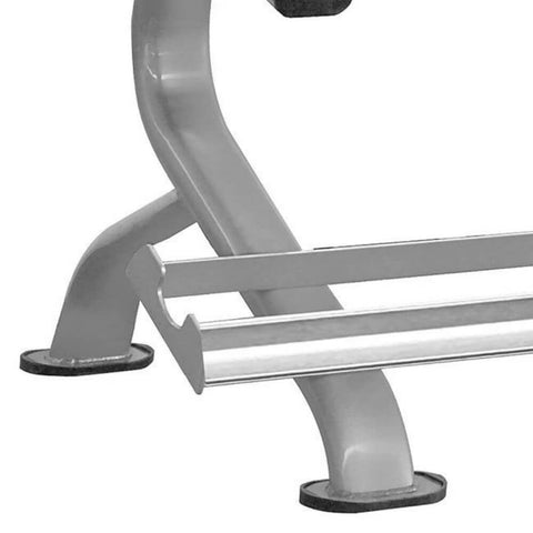 Image of Element Fitness Titanium Series Dumbbell Rack Close Up Base