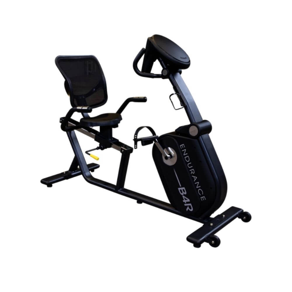 Endurance by Body-Solid Recumbent Bike B4RB Front Side View