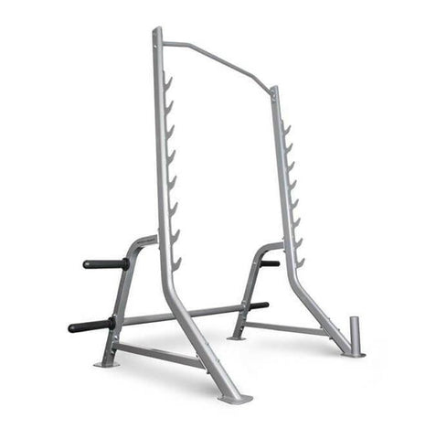 BodyCraft F460 Squat Rack with Bar and Plate Storage