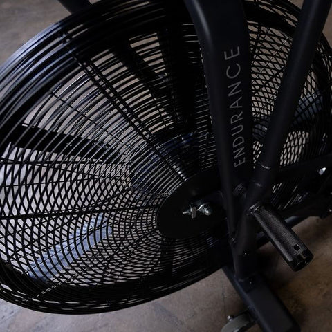 Image of Body-Solid Endurance FB300B Black Fan Bike Fan and Pegs