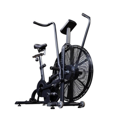 Body-Solid Endurance FB300B Black Fan Bike Angle