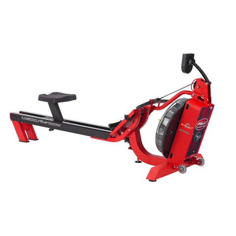 First Degree Fitness S6 Laguna Fluid Rower Rear Side View