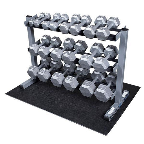 Body-Solid SDS550 Hex Dumbbell Package