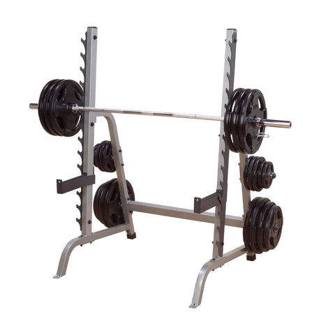 Body-Solid GPR370 Multi Press Rack with Weights