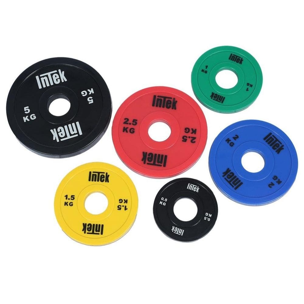 Intek Strength Armor Series KG Colored Urethane Change Plates 3D View