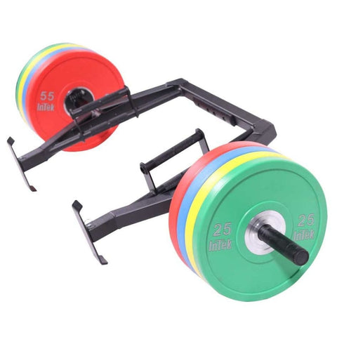 Intek Strength Modular Functional Bars 3D View With Plates