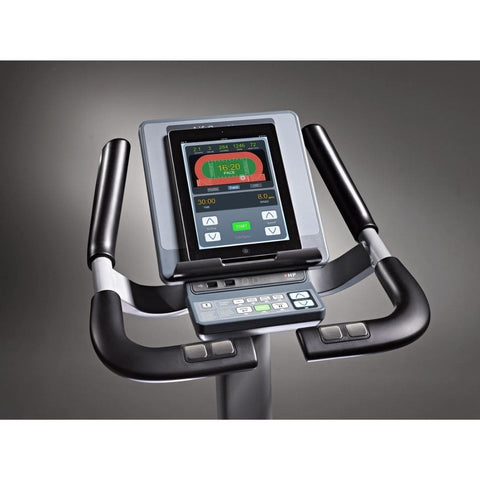 Image of LifeSpan Fitness C7000i Commercial Upright Bike Console Top View