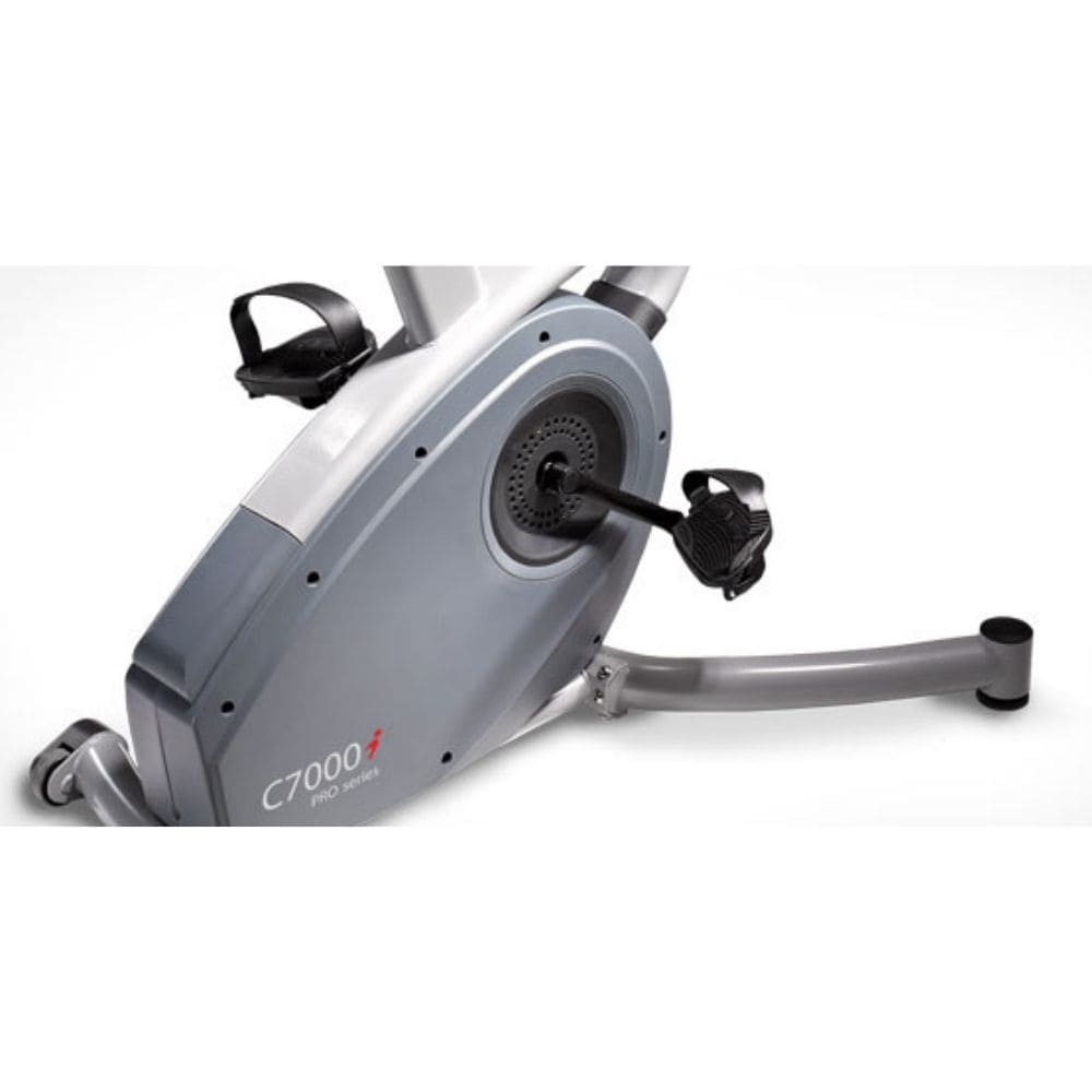 LifeSpan Fitness C7000i Commercial Upright Bike Steel Frame