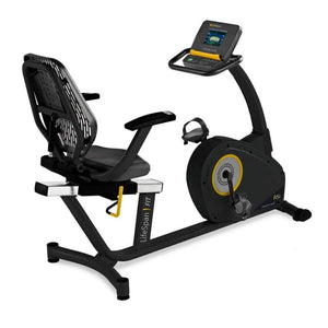LifeSpan Fitness R5i Recumbent Bike Top Rear Side View