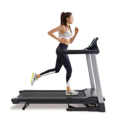 LifeSpan Fitness TR2000i Folding Treadmill Side View