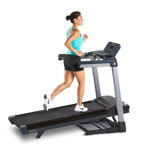 Image of LifeSpan Fitness TR3000i Folding Treadmill 3D View
