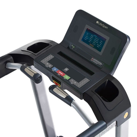 LifeSpan Fitness TR3000i Folding Treadmill Console Top View