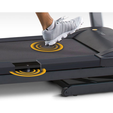 Image of LifeSpan Fitness TR5500i Folding Treadmill Eliminates Vibrations at the Console