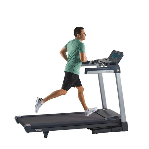Image of LifeSpan Fitness TR5500i Folding Treadmill Moving