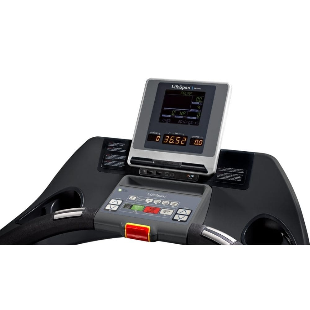 LifeSpan Fitness TR7000i Commercial Treadmill Console