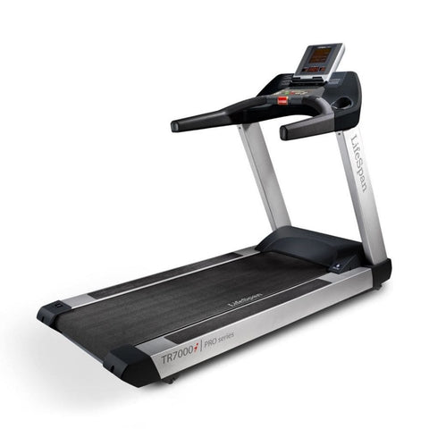 Image of LifeSpan Fitness TR7000i Commercial Treadmill Rear Side View