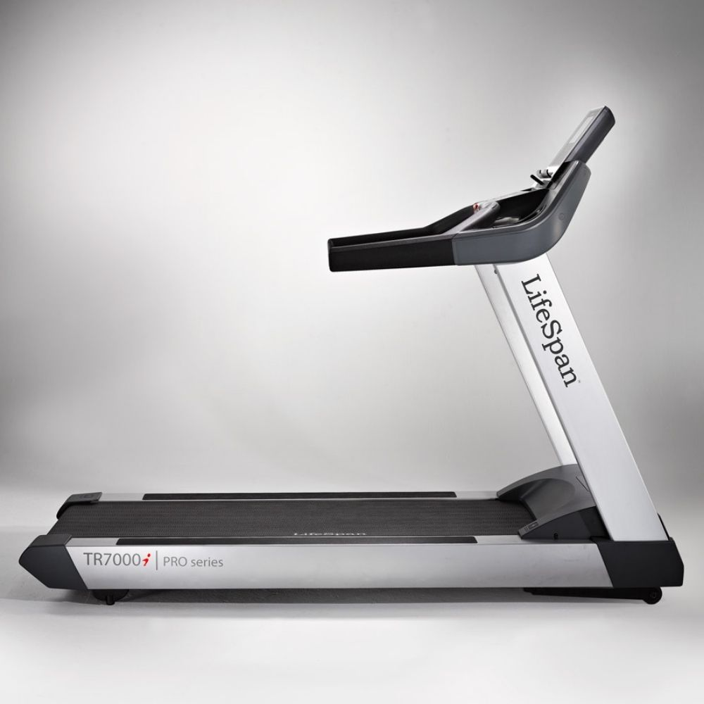 LifeSpan Fitness TR7000i Commercial Treadmill Side View