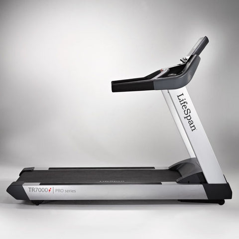 Image of LifeSpan Fitness TR7000i Commercial Treadmill Side View