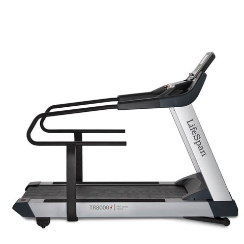Image of LifeSpan Fitness TR8000i Rehabilitation Treadmill Side View
