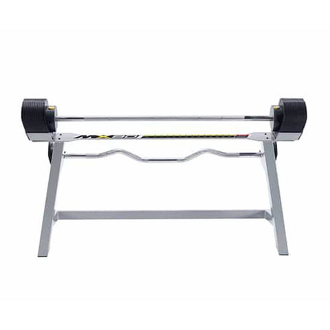 MX Select MX80 Adjustable Barbell & EZ Curl Bar Front View