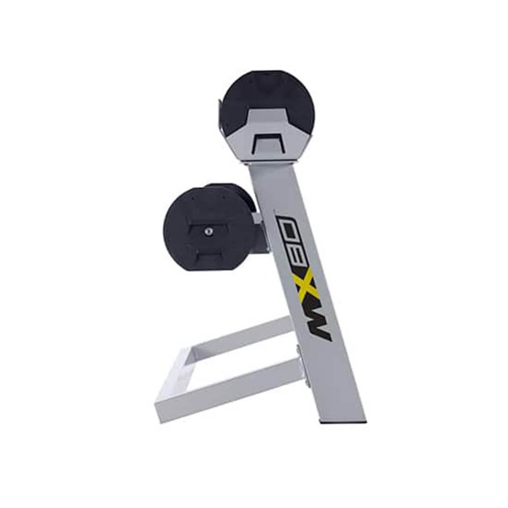 MX Select MX80 Adjustable Barbell & EZ Curl Bar Side View