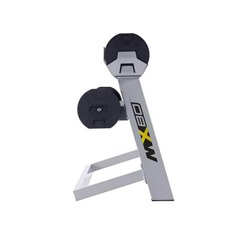 Image of MX Select MX80 Adjustable Barbell & EZ Curl Bar Side View