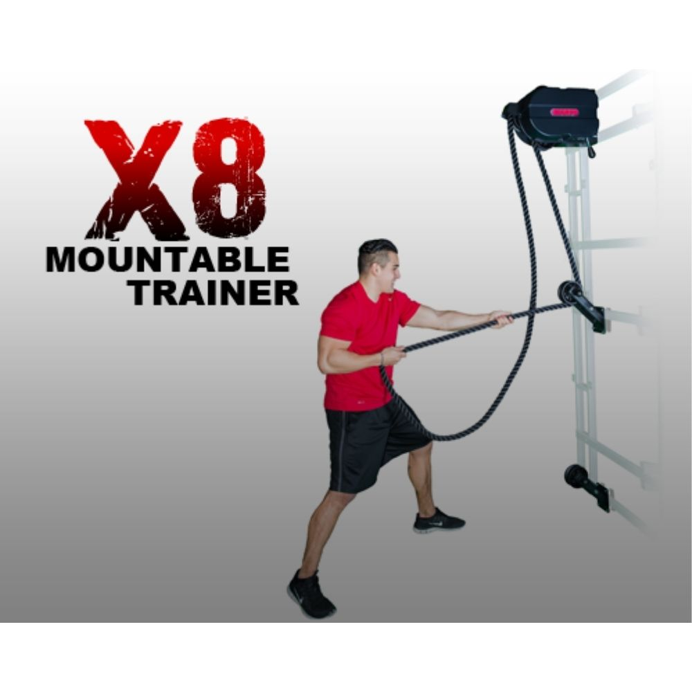 Marpo Kinetic X8 MOUNTABLE Rope Trainer 3D View