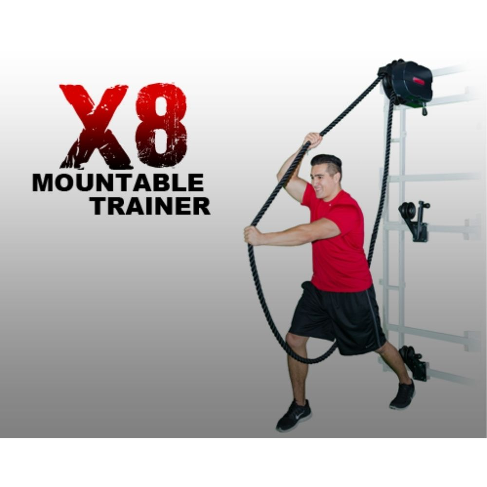 Marpo Kinetic X8 MOUNTABLE Rope Trainer Over Head Pull