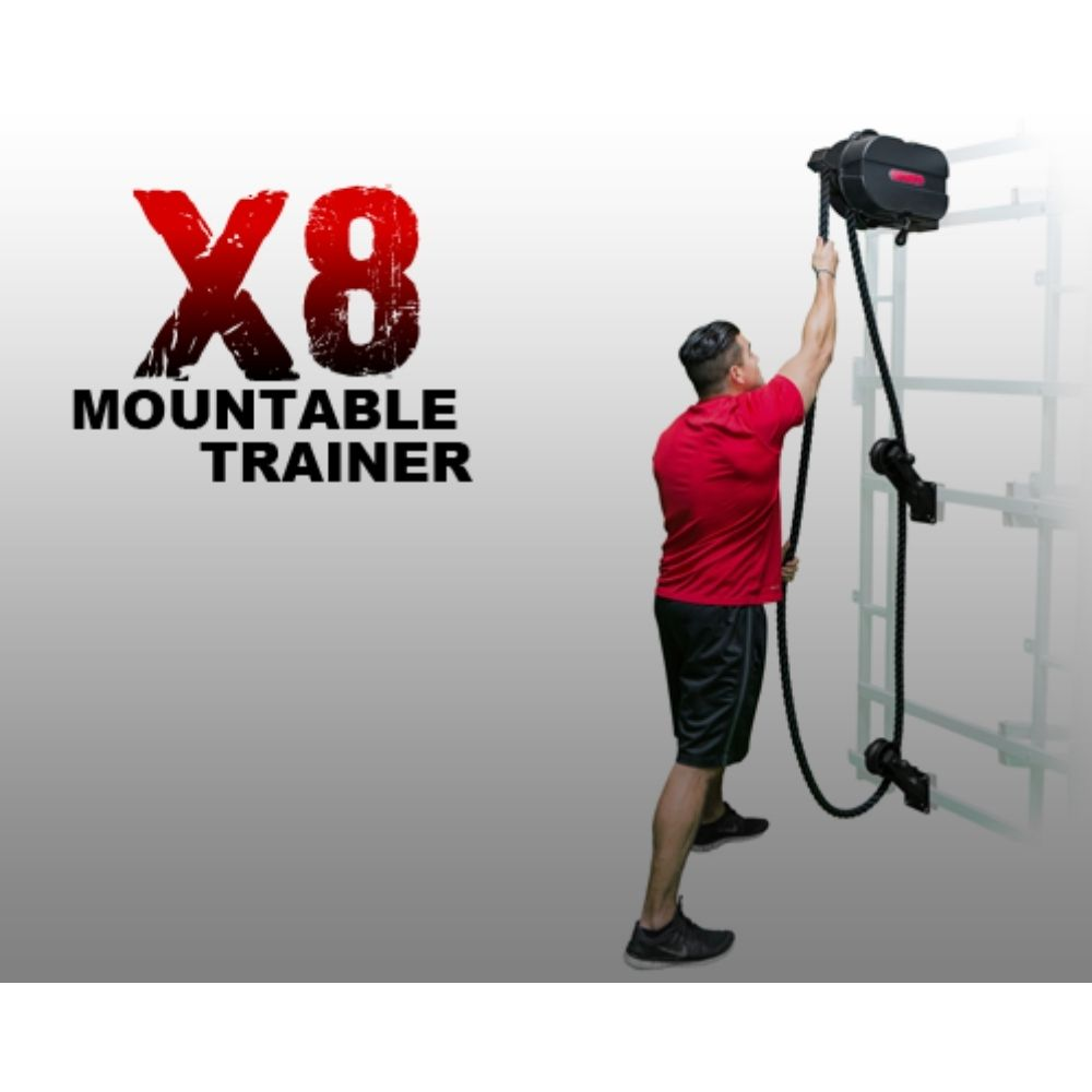 Marpo Kinetic X8 MOUNTABLE Rope Trainer Standing
