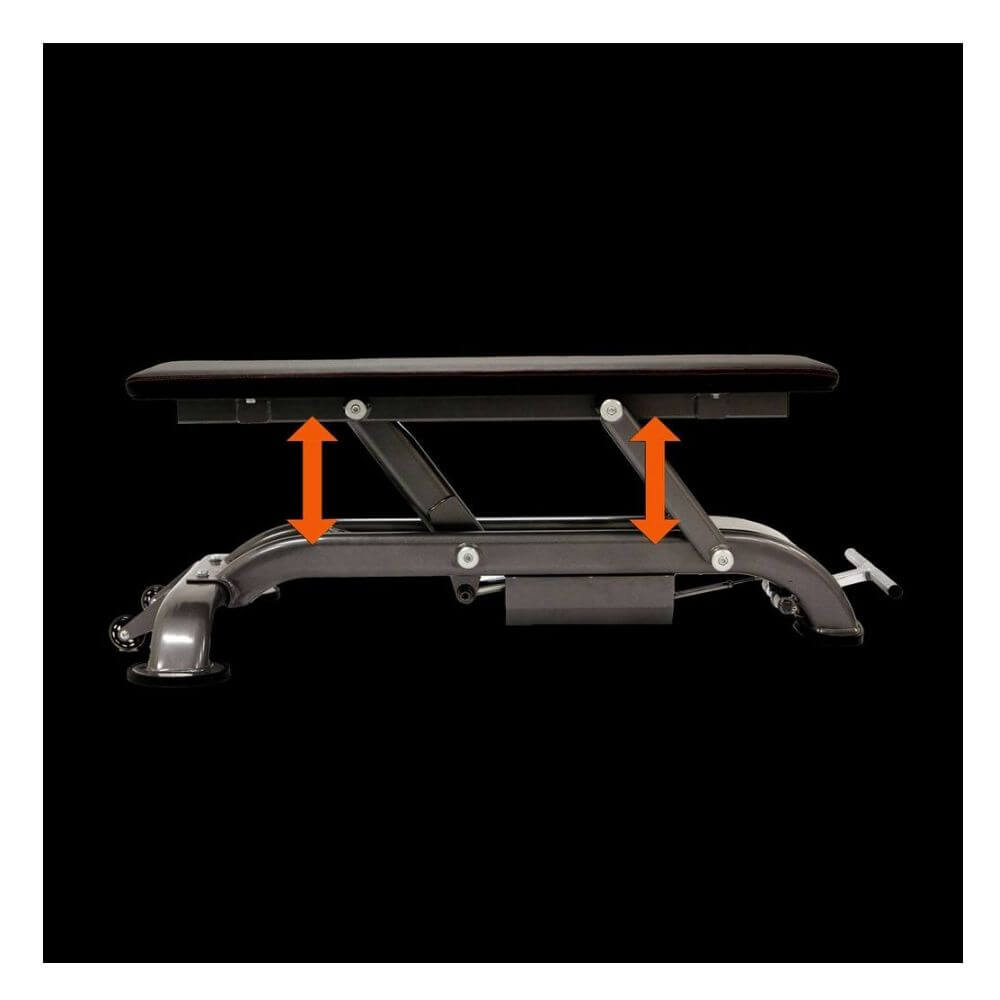 Maxx Bench Olympic Flat Bench MAXX-5545 Side