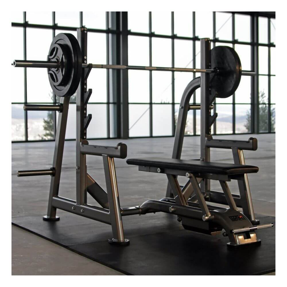 Maxx Bench Olympic Rack MAXX-5547 3D View