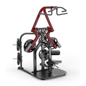 Muscle D Elite Leverage LRLP Rotary Lat Pulldown 3D View