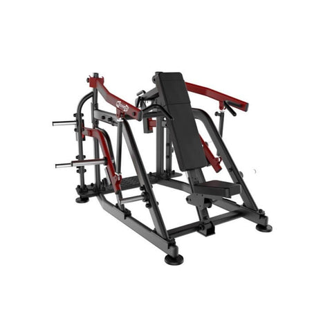 Muscle D Elite Leverage LSP Shoulder Press 3D View