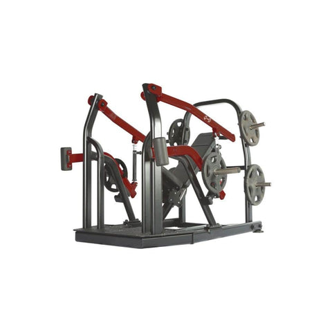 Muscle D Elite Leverage LCIP Chest _ Incline Press 3D View