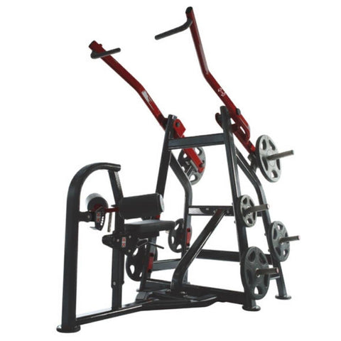 Muscle D Elite Leverage LFLP Front Lat Pulldown 3D View