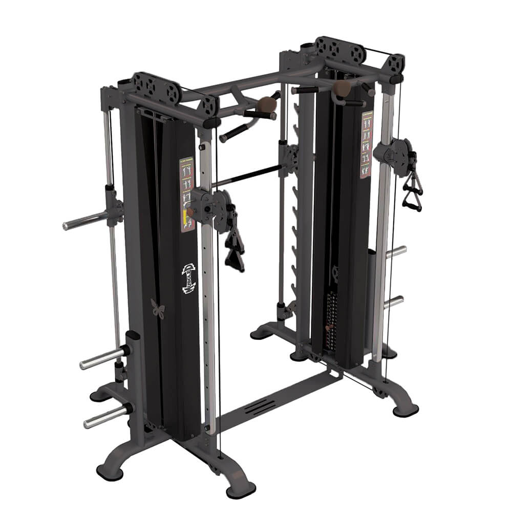 Muscle D MDM-DPSM Dap_Smith Machine Combo 3D View