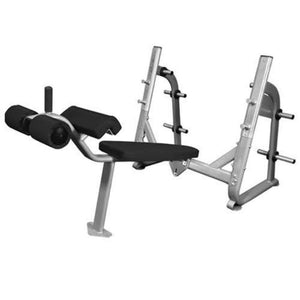 Muscle D Fitness BM-ODB Elite Series Olympic Decline Bench 3D View
