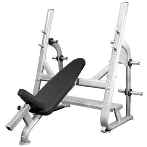 Muscle D Fitness BM-OIB Elite Series Olympic Incline Bench 3D View
