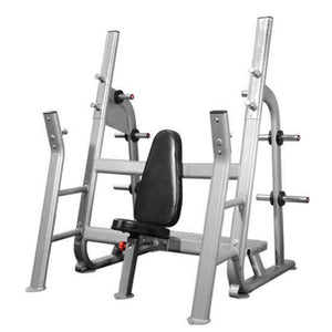 Muscle D Fitness BM-OMB Elite Series Olympic Military Bench 3D View