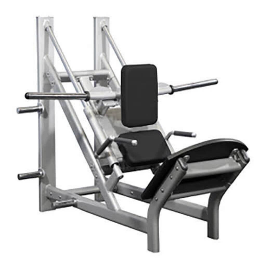 Muscle D Fitness MD-CH MD Series 45 Degree Linear Calf_Hack Machine 3D View